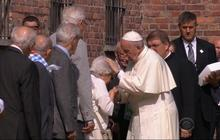 Pope Francis visits Auschwitz