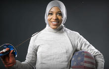 Muslim-American fencer to take stand against hate in Rio Olympics
