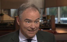 """Tim Kaine: Trump is """"confused"""" about existence of Iran cash transfer video"""