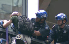 Climber scaling Trump Tower captured by NYPD