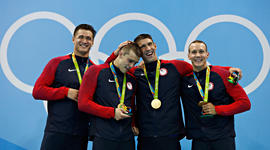 America's Rio Olympic medalists