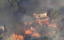 California wildfires grow despite huge firefighting effort
