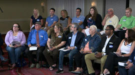 Focus group on Trump's declining poll numbers