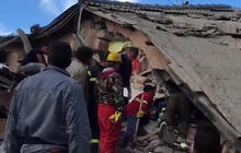 Rescue crews in Italy