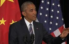Obama ducks Filipino president, reacts to North Korea
