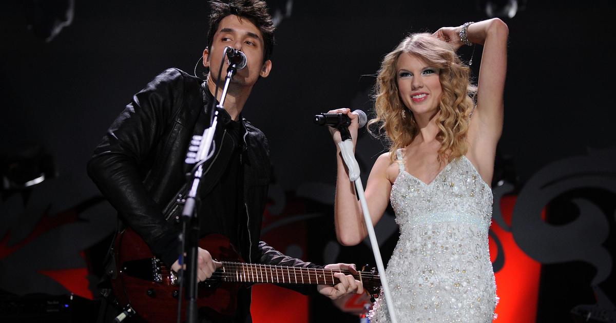 Dear John John Mayer Match These Taylor Swift Songs To Her Ex Boyfriends Cbs News