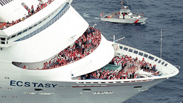 US Coast Guard Searches For Carnival Cruise Ship Passenger In - Cruise ships out of charleston south carolina