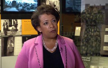 AG Loretta Lynch on NMAAHC, voter ID laws