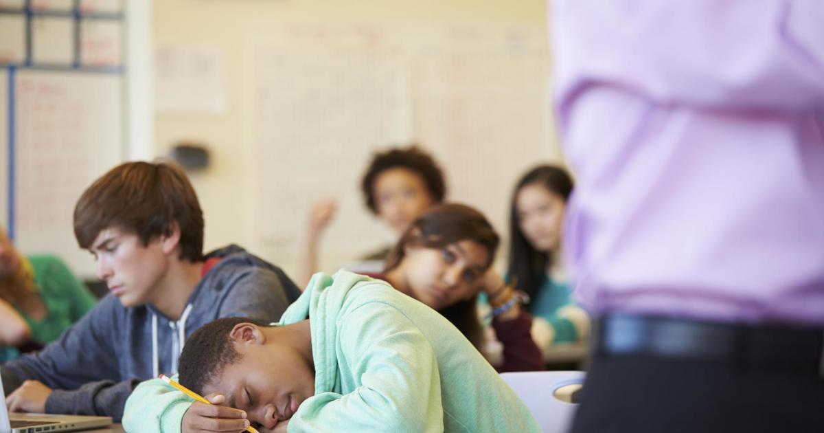 Many Teens Give Sex Ed A Failing Grade - Cbs News-5282
