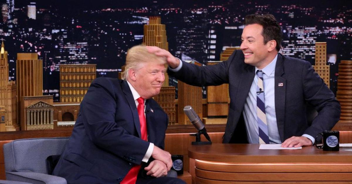 Jimmy Fallon takes action after Donald Trump tells him to