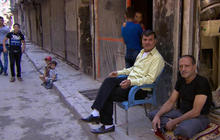 Syria cut in two by civil war