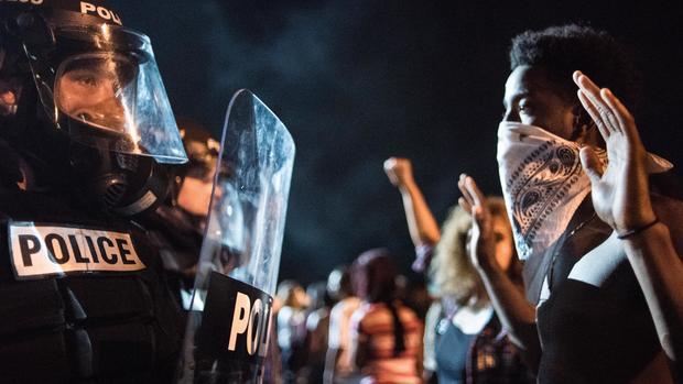 Charlotte police shooting protests