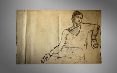 A look inside Picasso's portfolio