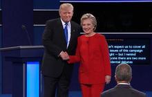 Trump, Clinton clash in first presidential debate