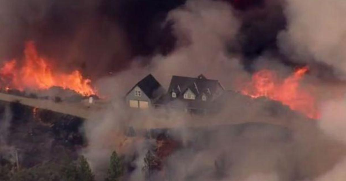 More homes destroyed by Northern California wildfire - CBS ...