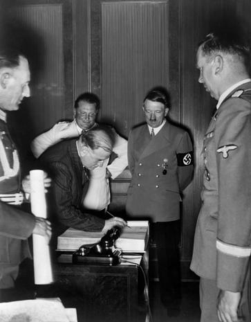 Munich Treaty 1938 The Way It Was Today In History September