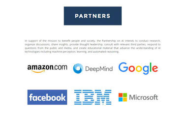 Tech giants team up for artificial intelligence alliance