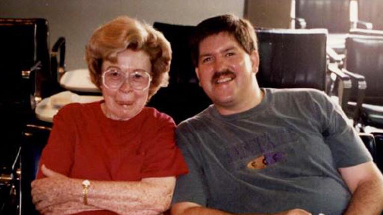 Marjorie Nugent and Bernie Tiede
