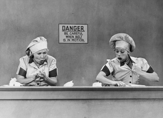 I love lucy assembly line episode