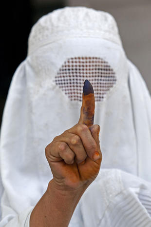 Inspiring photos of voting worldwide