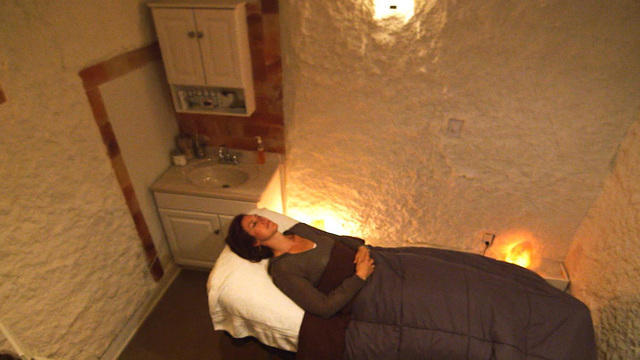 Can Dry Salt Therapy Rooms Help Alleviate Respiratory Issues Cbs News