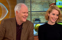 "Lithgow and Foy on new royal drama, ""The Crown"""