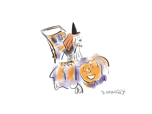 Dogs of Halloween