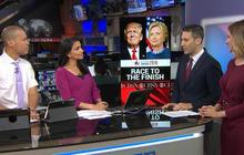 Clinton's lead shrinks nationally