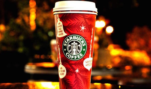 Starbucks' seasonal cups - Starbucks seasonal cups through the ...