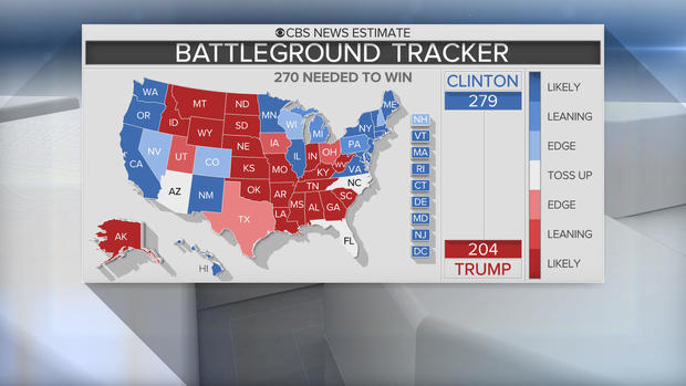 Who Won The US Presidential Election Live Results CBS News - Live interactive map us election