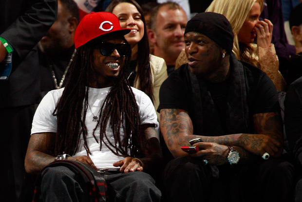 New Orleans Pelicans Lil Wayne Celebrity Fans Of Every