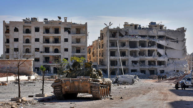 Fighting rages in Aleppo