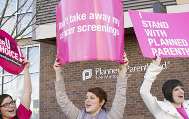 People are donating to Planned Parenthood in Mike Pence's name