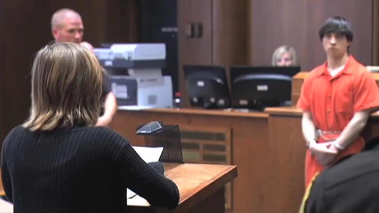 Sophia faces Adam in court