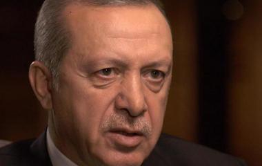 "Turkish President Erdogan: ""I am disillusioned"" with the U.S."