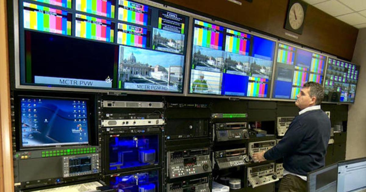 Vatican Tv Showcases Latest 4k Video Technology Cbs News