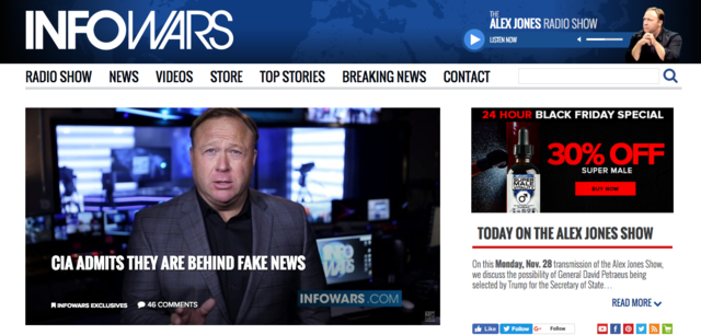 Fake news sites to watch out for - Pictures - CBS News