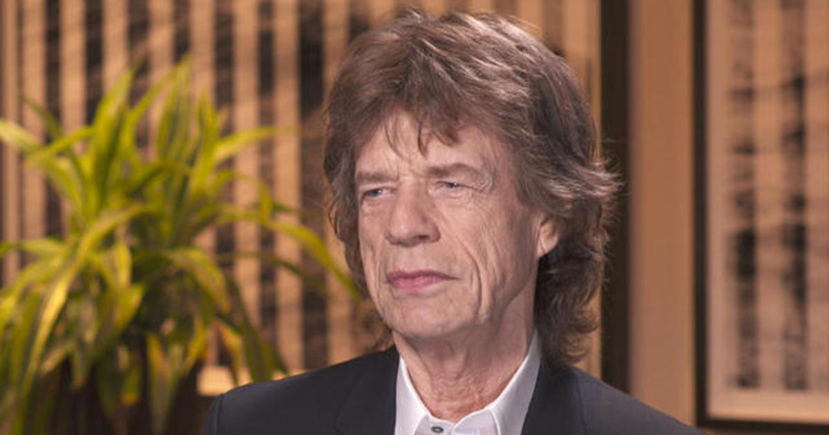 Mick Jagger and Keith Richards on the blues - CBS News Rolling Stones