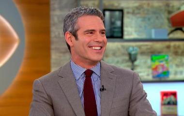 """Andy Cohen on new diary, """"Superficial,"""" celebrity friends"""