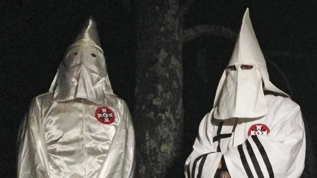 Disturbing photos of the modern-day Ku Klux Klan