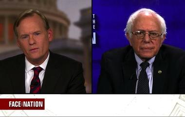 """Sanders: """"It looks like we have a cabinet of billionaires"""""""