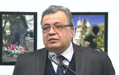 Russian ambassador to Turkey shot and killed
