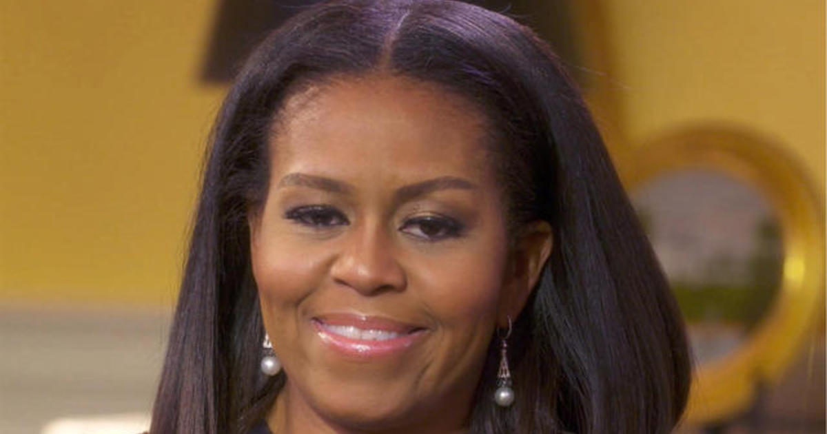 Michelle Obama On Being Called An Angry Black Woman Cbs News