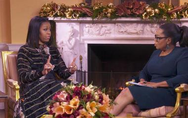 "Michelle Obama: ""The door is open"" for Melania Trump"