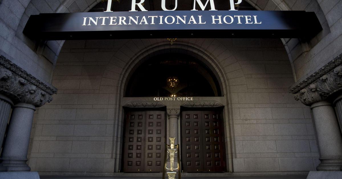 President Trump's controversial Washington, D C , hotel is
