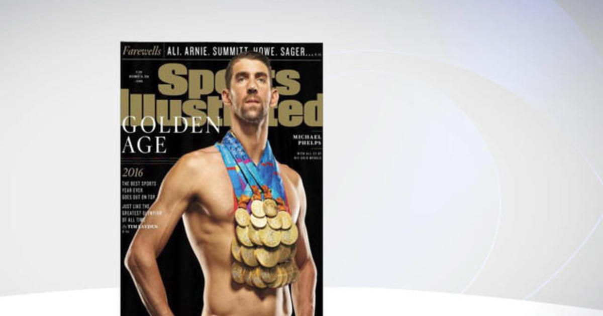 Michael Phelps Poses For Sports Illustrated Cover Cbs News