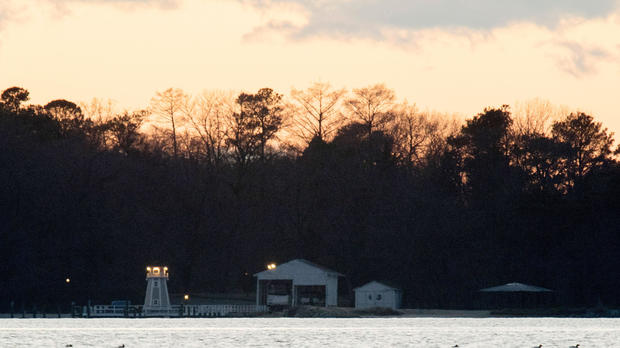 A dock is seen at a recreational compound owned by the Russian government near Centreville, Maryland, on Dec. 29, 2016.