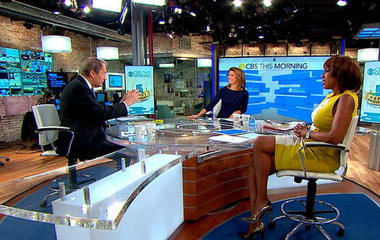 """""""CBS This Morning"""" celebrates five-year anniversary"""