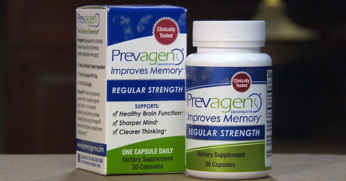 Supplement Maker Accused Of Misleading >> Lawsuit Claims Prevagen Doesn T Boost Memory Cbs News