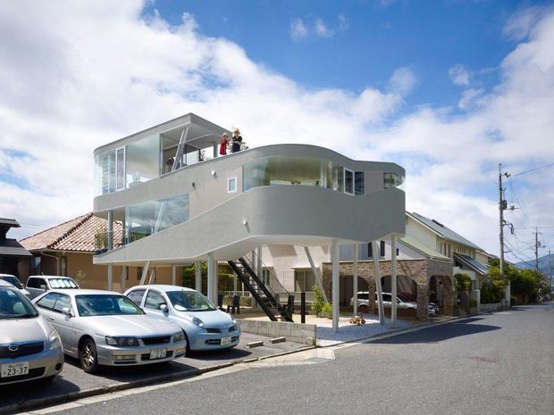 10 Unique Homes On Stilts Cbs News